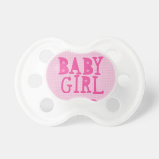女の赤ちゃん おしゃぶり