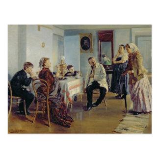 女中の雇用、1891-92年 ポストカード