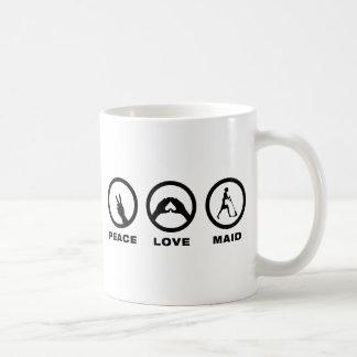女中 コーヒーマグカップ