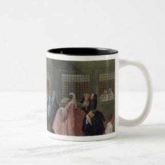 女子修道院の訪問パーラー ツートーンマグカップ