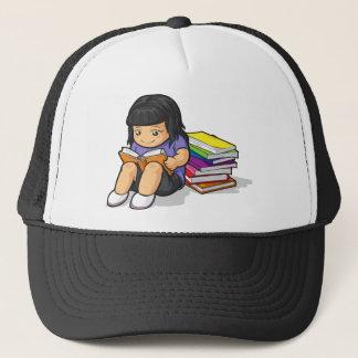 女子学生の読本の漫画 キャップ