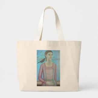 女性およびクロドリは1 2012年です ラージトートバッグ