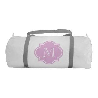 女性および女の子のスポーツのためのモノグラムのなduffleバッグ ジムバッグ