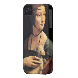 女性およびErmineのiphoneの場合 Case-Mate iPhone 4 ケース
