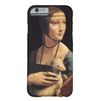 女性およびErmine Barely There iPhone 6 ケース