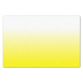 女性によっては装飾の粋で黄色いグラデーションが家へ帰ります 薄葉紙