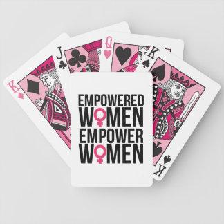 女性に権限を与えて下さい バイスクルトランプ