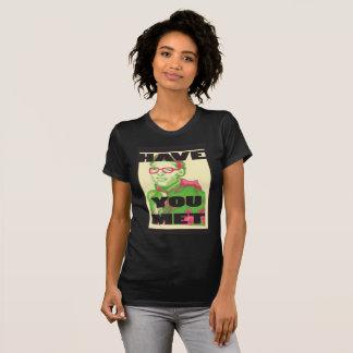 女性にTravisの会われたTシャツあります Tシャツ