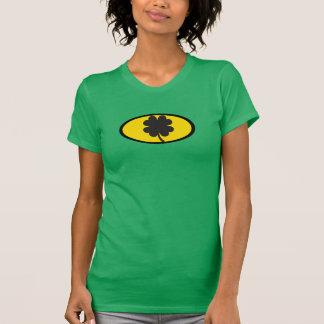 女性のこうもりのテーマのためのセントパトリックの日のTシャツ Tシャツ