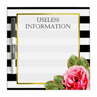 女性のためのおもしろいな無用情報 ホワイトボード