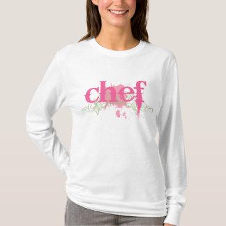 女性のためのかわいいシェフのTシャツ Tシャツ