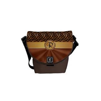 女性のためのモノグラムの美しい小型メッセンジャーバッグ メッセンジャーバッグ