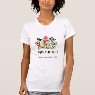 女性のための優先順位 Tシャツ