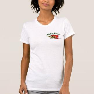 女性のための米国中西部Kustomzの木質のティー Tシャツ