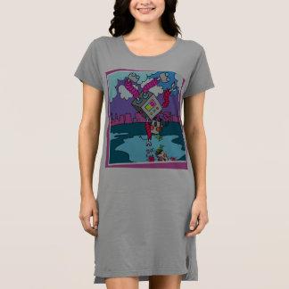 女性のための踊りのロボット服 ドレス