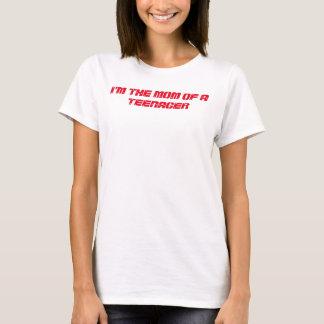 """女性のための""""お母さんおよび十代の若者たち"""" BASICのTシャツ Tシャツ"""