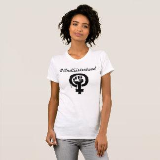 女性のための#AndSisterhoodの女性のワイシャツ Tシャツ