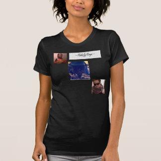 女性のアメリカの服装のrikkilarougeのTシャツ Tシャツ