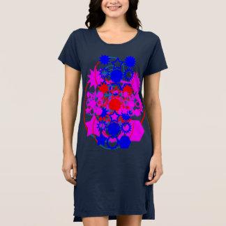 女性のアメリカの服装のTシャツの服4色 ドレス