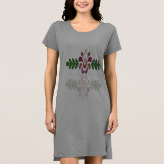 女性のアメリカの服装のTシャツの服 ドレス