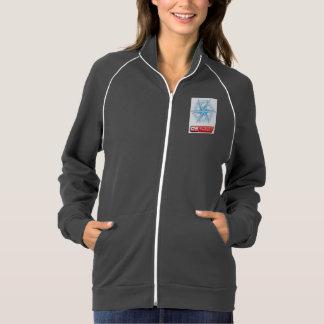 女性のアメリカの服装カリフォルニアフリースのジャケット ジャケット