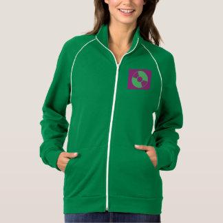 女性のアメリカの服装カリフォルニアフリースDJ Insp ジャケット