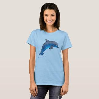 女性のイルカのTシャツ Tシャツ