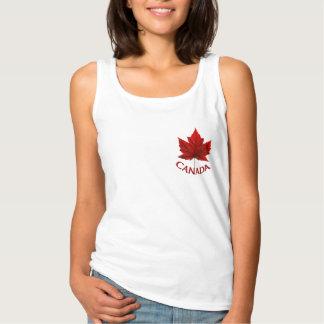 女性のカナダのタンクトップ名前入りなカナダのワイシャツ タンクトップ