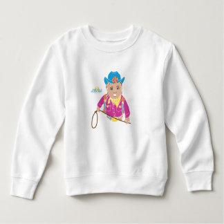 女性のカーボーイの幼児のスエットシャツ(ヒスパニック) スウェットシャツ