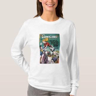 """""""女性のカーボーイロマンス#2""""のTシャツ Tシャツ"""