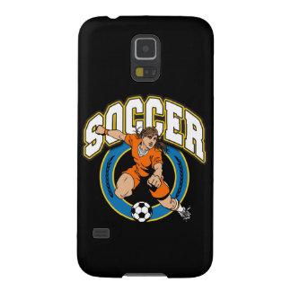 女性のサッカーのロゴ GALAXY S5 ケース