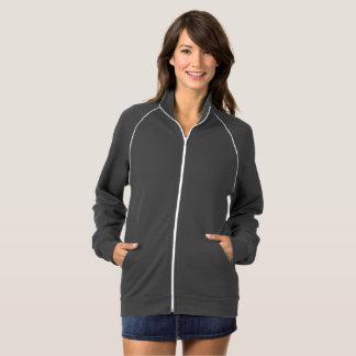 女性のジッパーのジャケット ジャケット