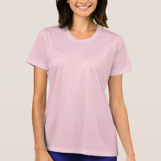 女性のスポーツTekの競争相手のTシャツ Tシャツ
