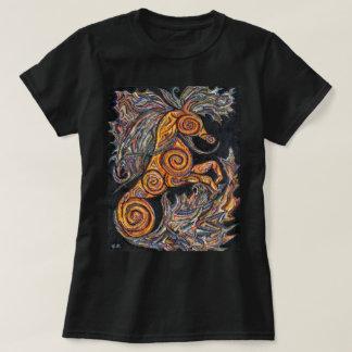 女性のタツノオトシゴのTシャツ Tシャツ