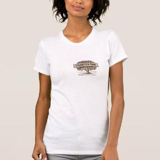 女性のチャーターのカシのデラックスなTシャツ Tシャツ