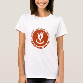 女性のティー-確信を越える愛! Tシャツ