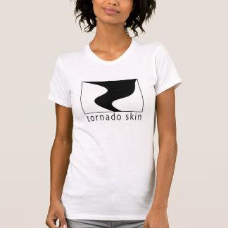女性のトルネード皮のTシャツ Tシャツ