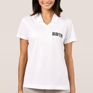 女性のナイキDri適合の悪感情のポロシャツ ポロシャツ