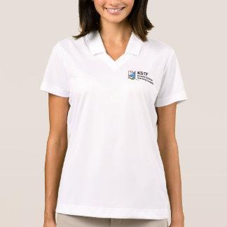 女性のナイキDri適合の悪感情のポロシャツ- KSTF ポロシャツ