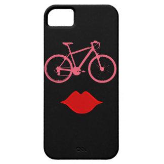 女性のバイクの口 iPhone SE/5/5s ケース