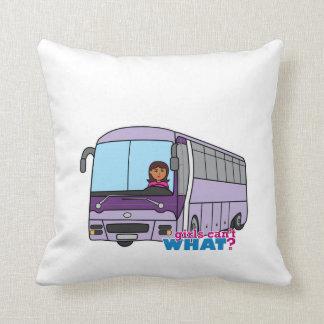 女性のバス運転手 クッション