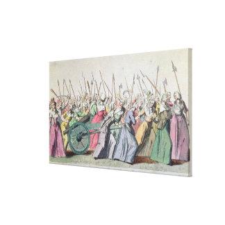 女性のバーセイルズ、バーセイルズ3月 キャンバスプリント