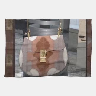 女性のファッションの財布の札入れの革付属品のおもしろい キッチンタオル