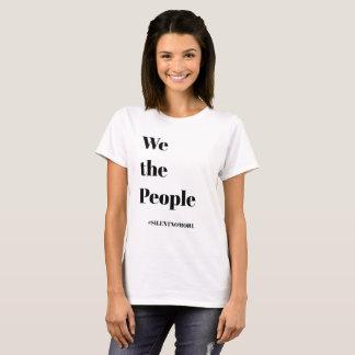 女性のファッション-私達人々のTシャツ Tシャツ