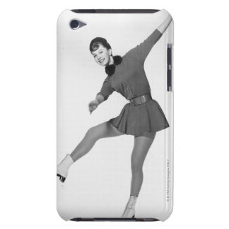 女性のフィギュアスケート Case-Mate iPod TOUCH ケース