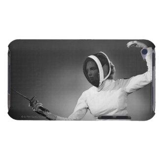 女性のフェンシング Case-Mate iPod TOUCH ケース