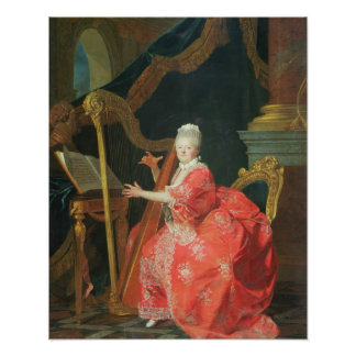女性のポートレートは、夫人であるとアデレード、da言いました ポスター