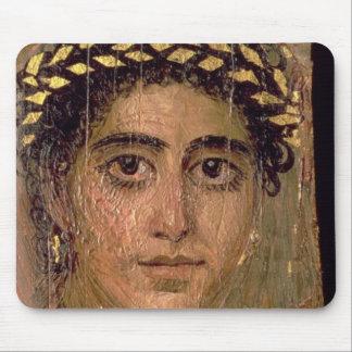女性のポートレート、ロマノエジプトFayumから マウスパッド