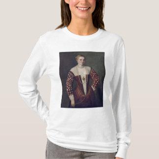 女性のポートレート Tシャツ