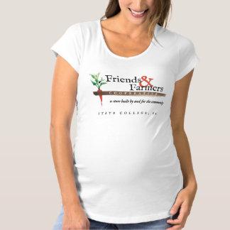女性のマタニティシャツ マタニティTシャツ